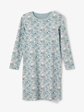 NKF Nightgown Ls Lead Flower Noos