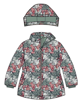NMFMaxi Jacket Flower2