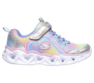 Skechers Heart Lights-Rainbow Lux