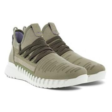 Ecco Zipflex w low lea/tex sneaker
