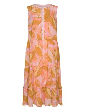 NU Camden Dress Peach Skin