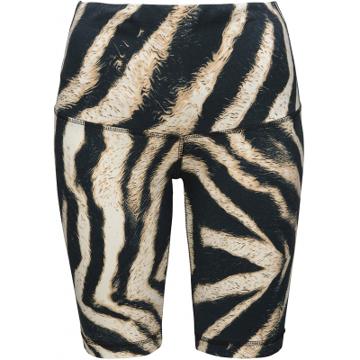One Two Zebra Biker Shorts