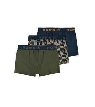 NKM Boxer 3p forest night aop noos