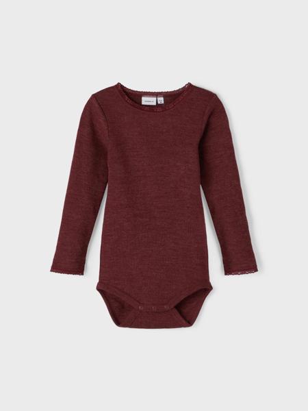 NMF Wang wool needle ls body noos xxl