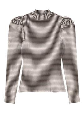NLFNallas Turtleneck Top Stripe