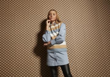 DXEL Knit Vest Combi