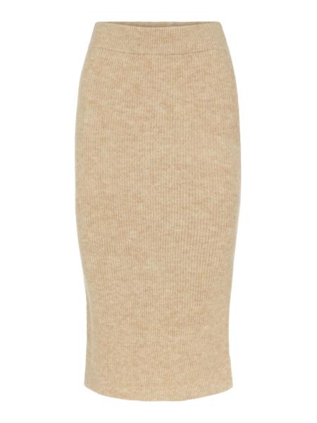 PC Fanna Hw Midi Knit Skirt