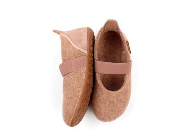 Bisgaard Ballet Wool Hjemmesko