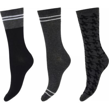 Decoy Ankle Sock Oranic Cot.3Pk