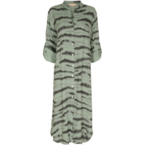 Marta Zebra Military Dress