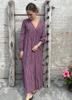 Banditas Dress Purple Paisley
