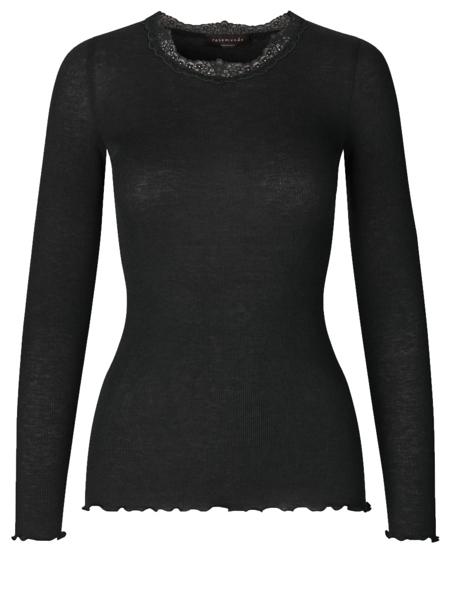 Rosemunde Wool T-shirt W/ lace