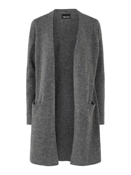 PCChapa Ls Knit Long Cardigan