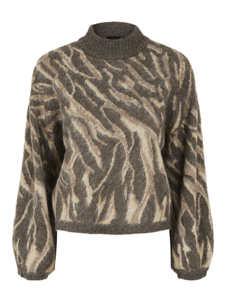 PC Floria Ls High Neck Wool