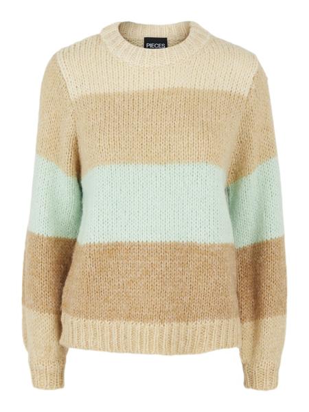 PC Fonda Ls O-Neck Wool Knit