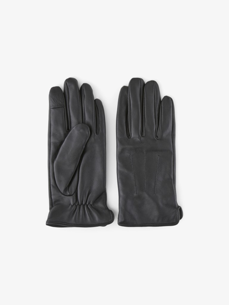 Pieces Nellie leather gloves