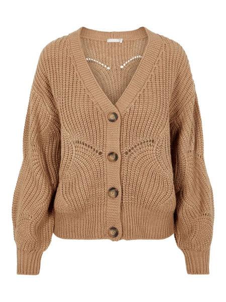 PC Benita Ls knit cardigan