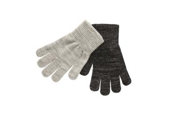 Melton 2-Pack Gloves w. Lurex