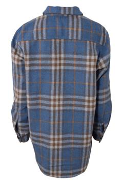 Hound Plaid Shirt Jacket