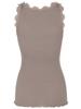 Rosemunde Silk Top Regular w/Lace