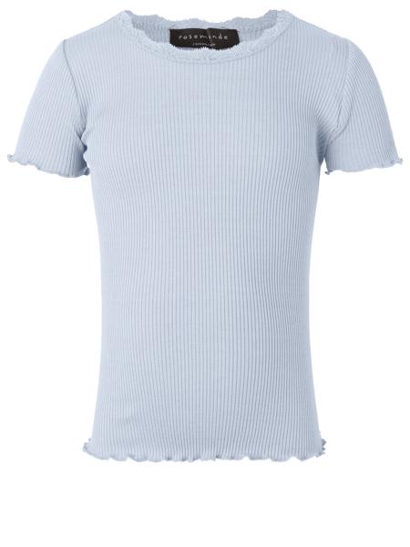 Rosemunde Silk t-shirt w/lace ss