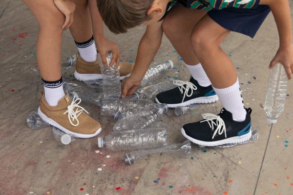 Hummel Knit  Runner Recycle Gold