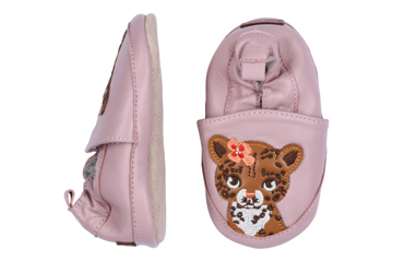 MP Leather Shoe - Leopard