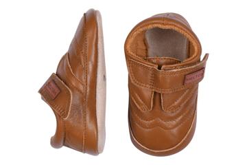 MP Leather Shoe - Velcro