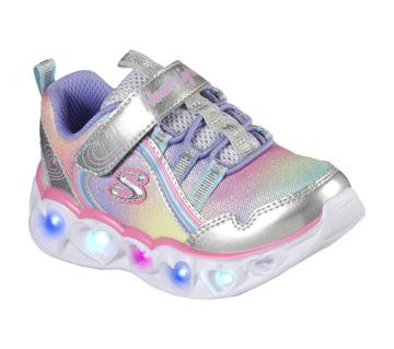 Skechers Hearts Lights-Rainbow Lux