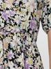 PC Karry Ss Midi V-Neck Dress
